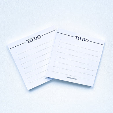 to minimalist to do sticky notes for planners