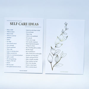 Self Care A6 Card | SquizzleBerry
