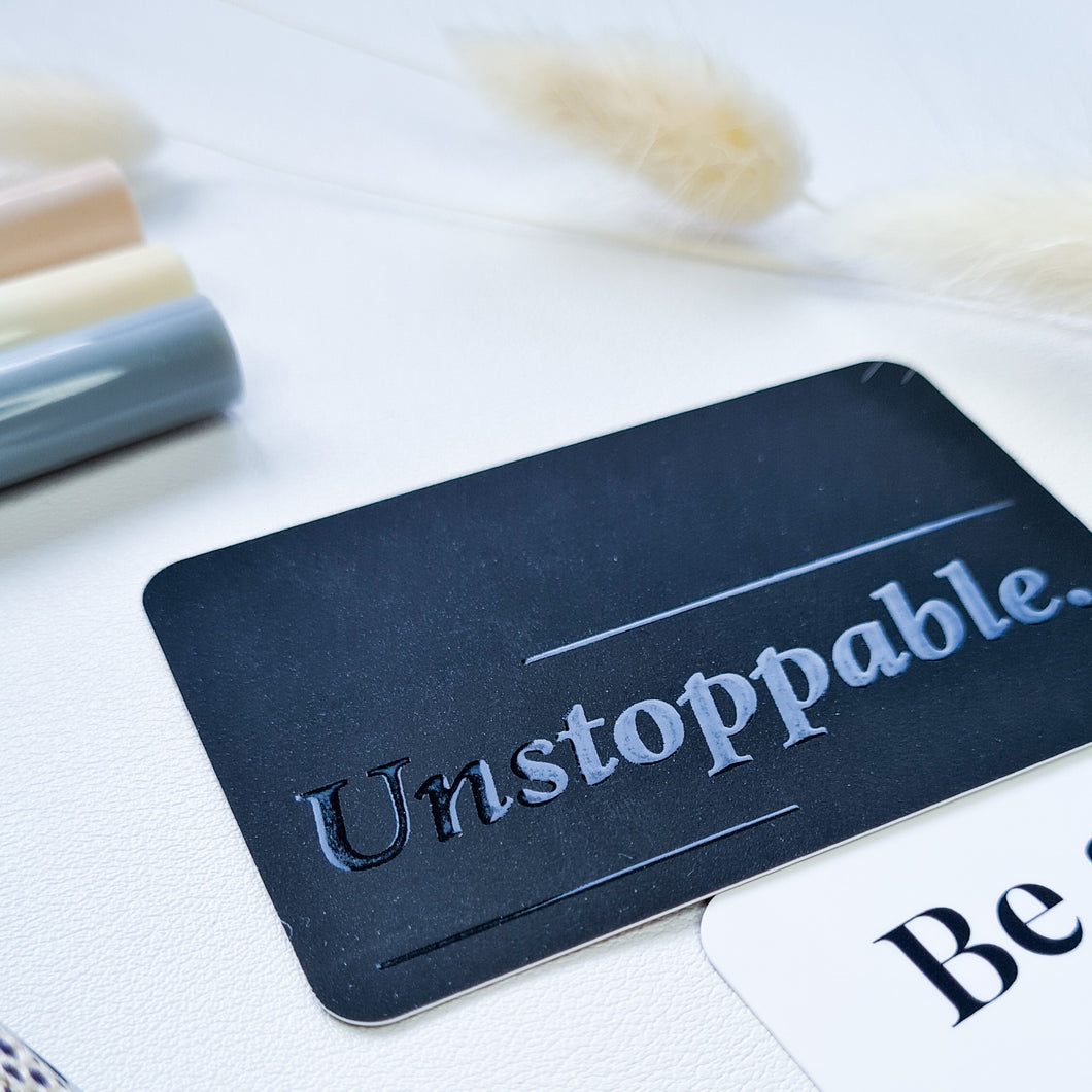 Unstoppable - Pocket Card | SquizzleBerry