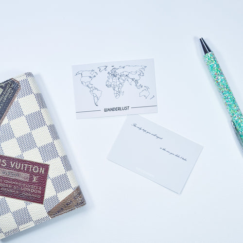 Wanderlust - Pocket Card | SquizzleBerry