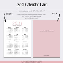 Load image into Gallery viewer, 2021 Calendar Card