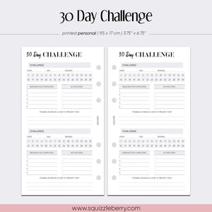30 Day Challenge - Personal