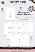 Load image into Gallery viewer, Christmas Bundle - A5