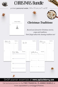 Christmas Bundle - Personal Wide