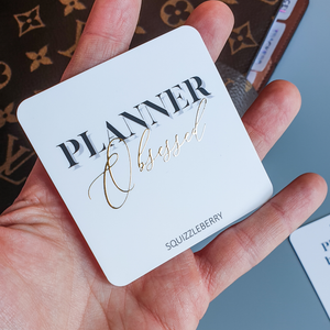 Planner Obsessed - Square Card