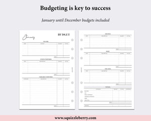 Budget Bundle - A5 | SquizzleBerry