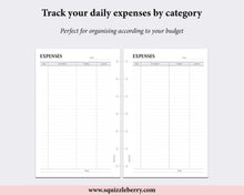 Load image into Gallery viewer, Expense Tracker - Mini HP | SquizzleBerry