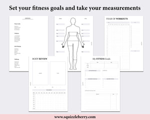 Fitness Bundle - A5 | SquizzleBerry