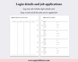 job applications tracker and career planner