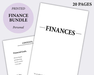 finance bundle minimal planning debt free