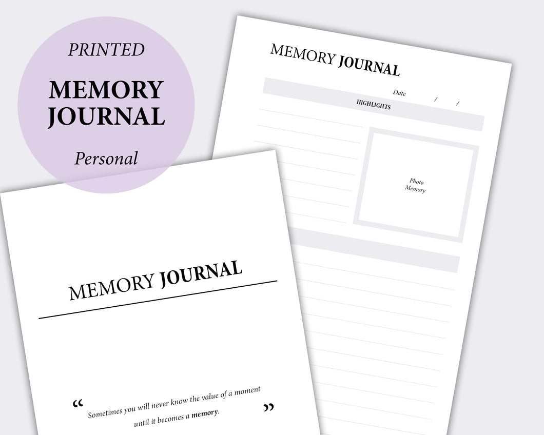 Memory Journal - Personal | SquizzleBerry