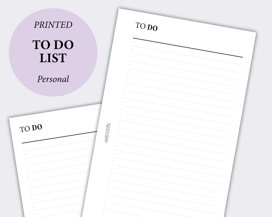 To Do List - Personal | SquizzleBerry