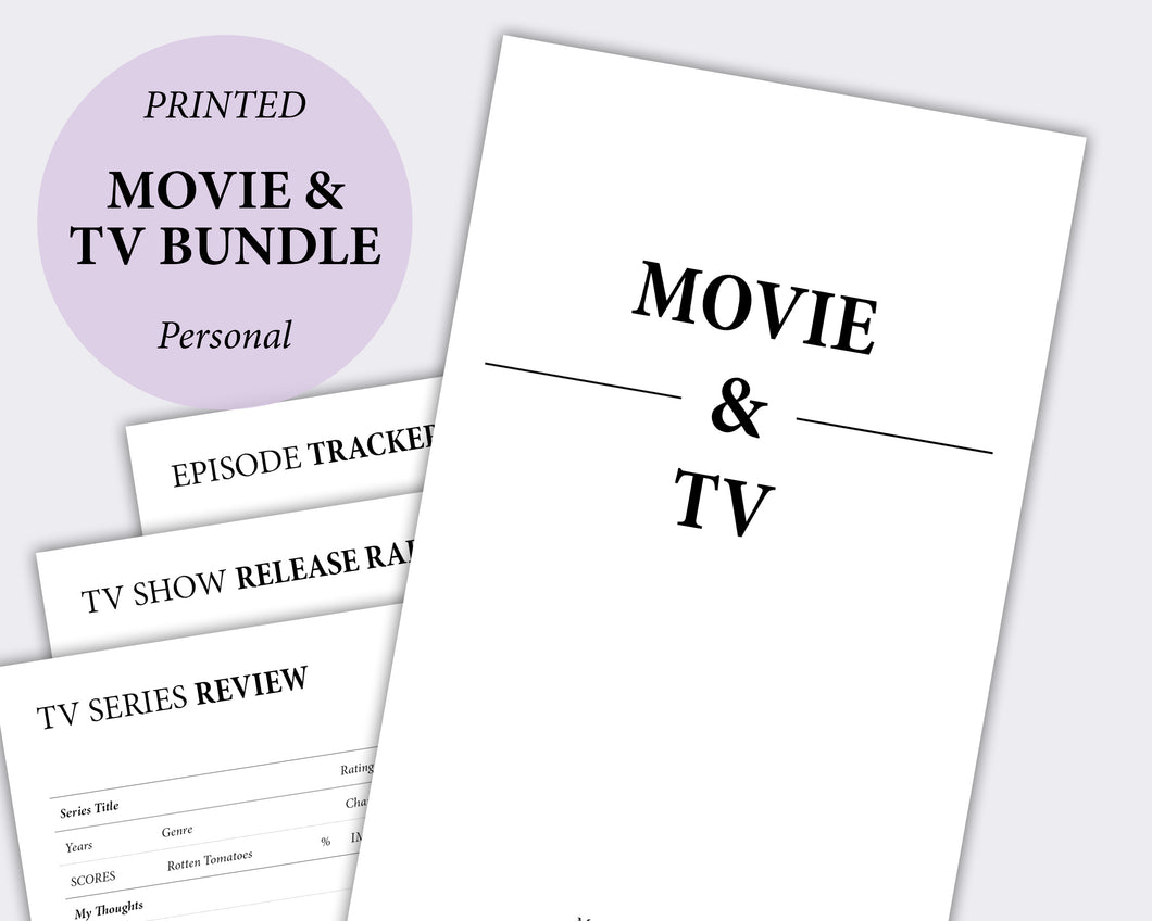 Movie & TV Bundle - Personal | SquizzleBerry