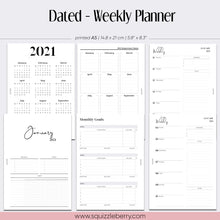 Load image into Gallery viewer, Dated - Weekly Planner - A5