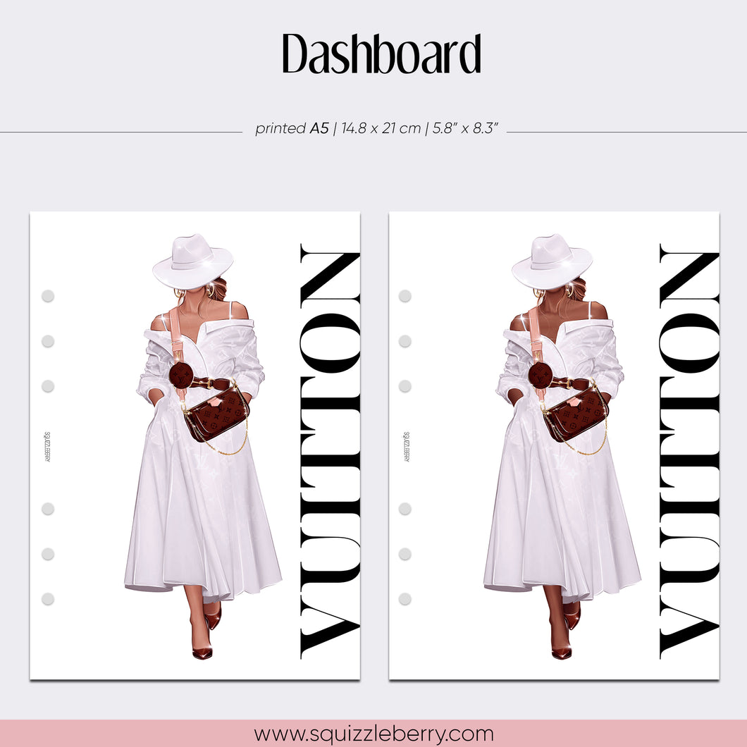 Vuitton Dashboard - A5 | SquizzleBerry