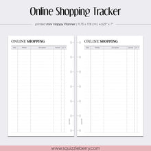 Load image into Gallery viewer, Online Shopping Tracker - Mini HP