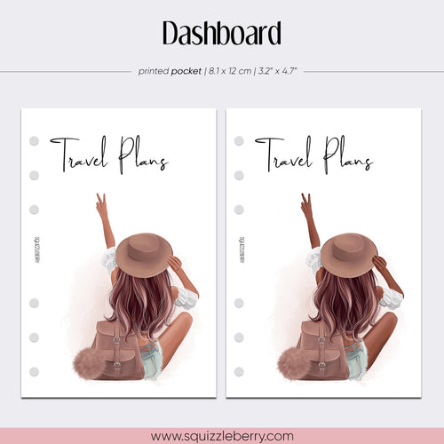 travel planner dashboard in pocket for planners