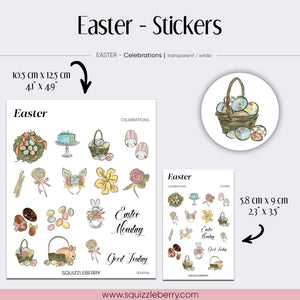 Easter - Stickers | SquizzleBerry