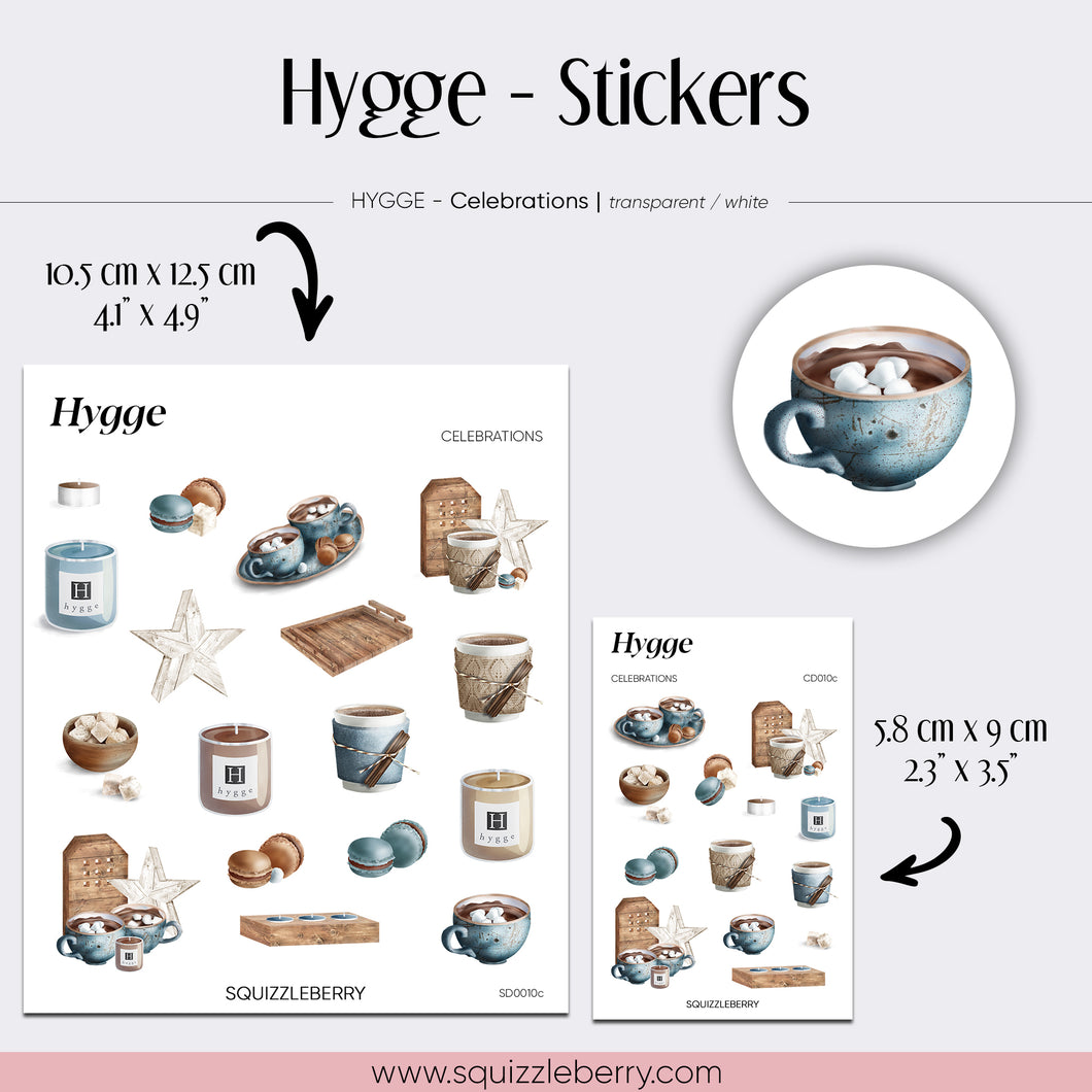 Hygge - Stickers | SquizzleBerry