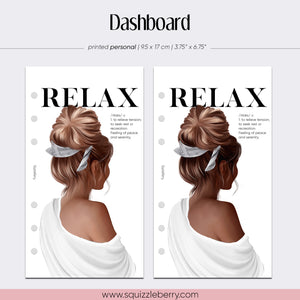 Relax Dashboard - Personal