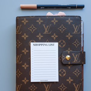 Shopping List - A7 Notepad