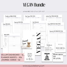 Load image into Gallery viewer, Vegan Bundle - A5 | SquizzleBerry