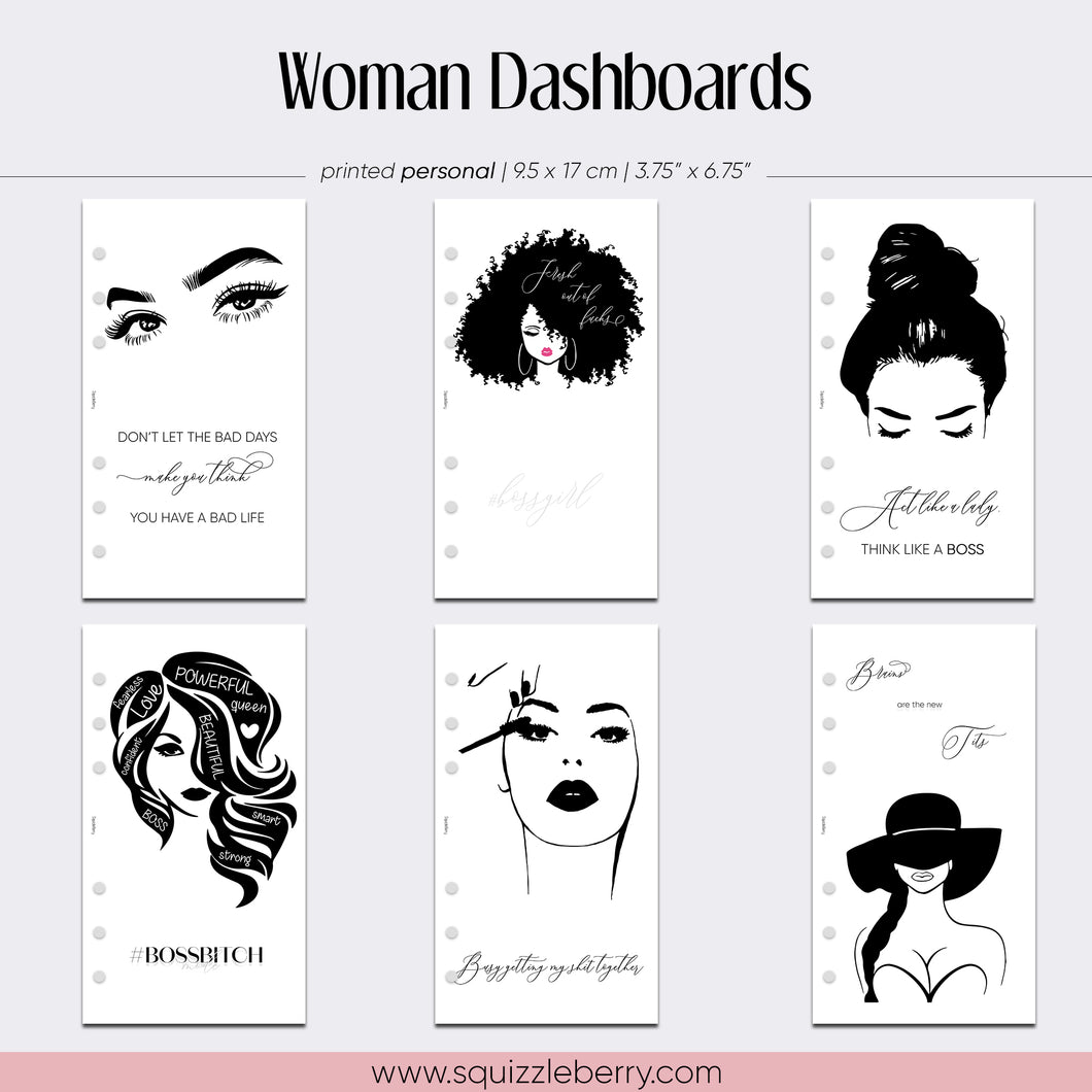 Woman Dashboard - Personal