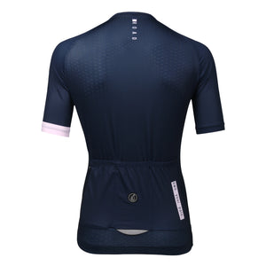 Queen Of The Road Jersey. (navy/pink)