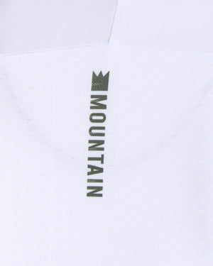 King of the Mountain Jersey -  White/Olive. Men's