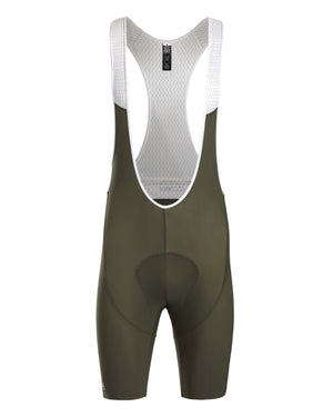 King of the Mountain Bib Short. Olive - Men's