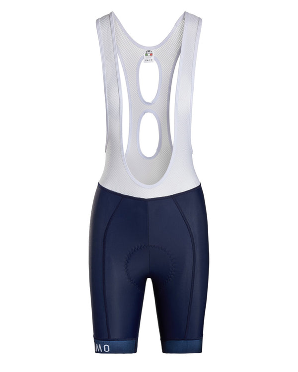 Grimpeur Navy Bib Short. Women's