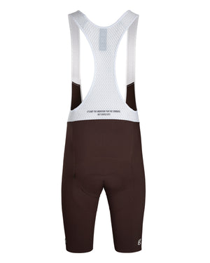 King of the Mountain Bib Short. Brown - Men's