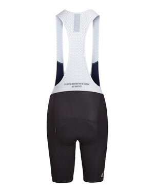 Queen of the Mountain Bib Short. Black - Women's