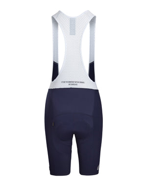 Queen of the Mountain Bib Short. Navy - Women's