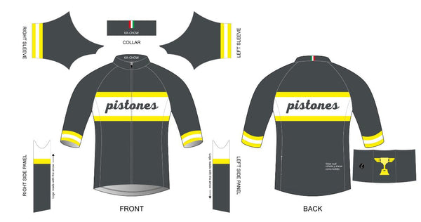 Custom - Pistones Team Jersey
