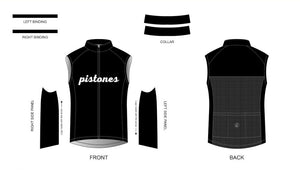 Custom - Pistones Team Wind Vest