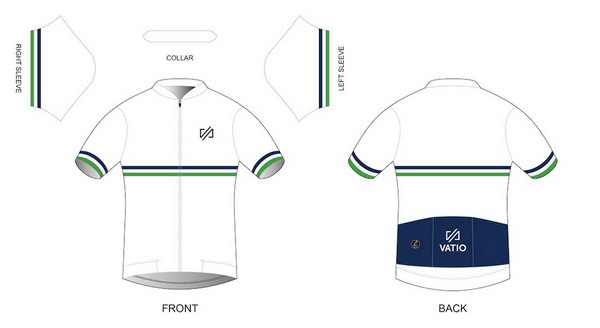 Custom VATIO Jersey (White)