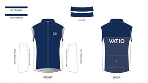 Custom - VATIO Team Wind Vest (Blue)