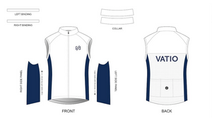 Custom - VATIO Team Wind Vest (white)