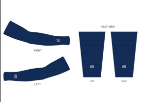 Custom VATIO Arm Warmers (Blue)