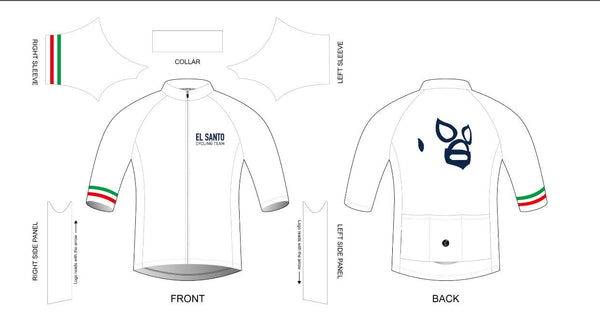 Custom El Santo cycling team - jersey