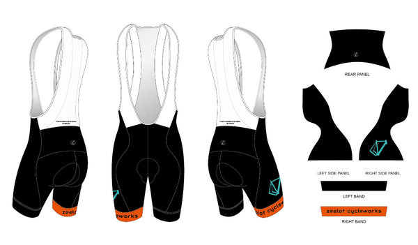 Zealot Team Bib-Short