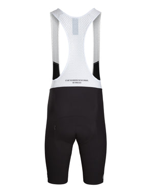 King of the Mountain Bib Short. Black - Men's