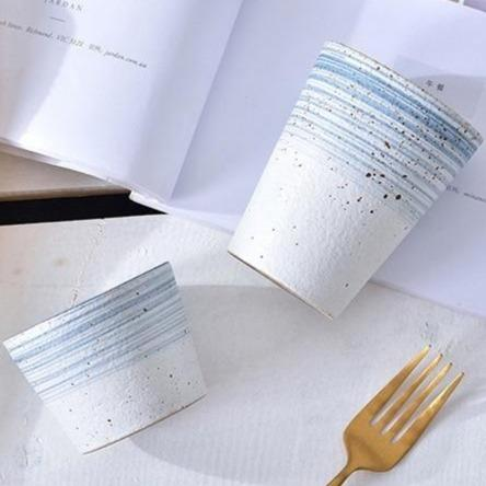 Light Blue Ceramic Tableware Set