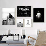 Poster Fashion Art Canvas Painting - OYRISS
