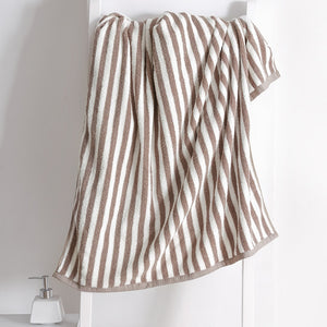 100% Cotton Stripe Bath Towel - OYRISS