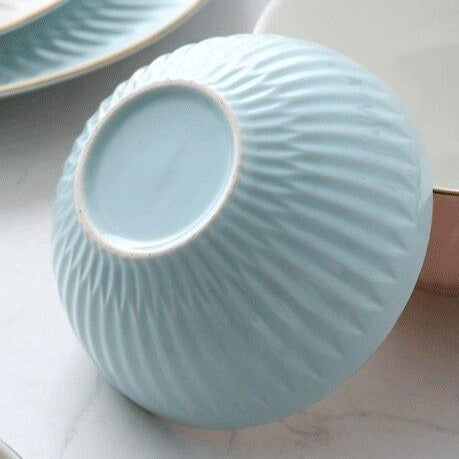 Colorful Ceramic Tableware Set