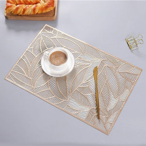 Leaf Transparent Placemat - OYRISS