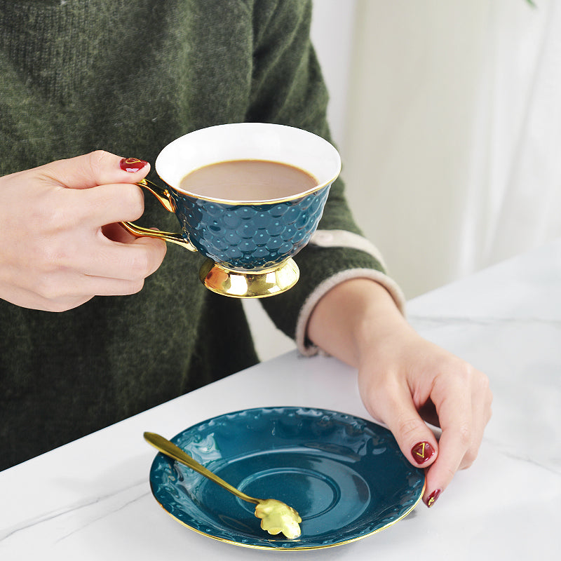 Luxury Green Ceramic Cup - OYRISS