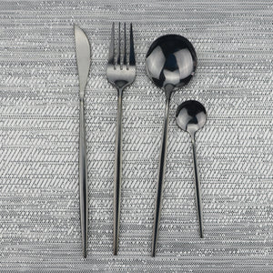 Luxury Black Dinnerware Set